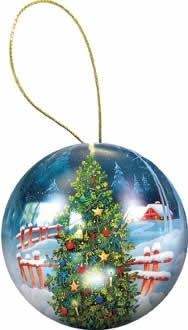 Holiday Ornament Puzzle: Christmas Tree